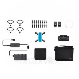 DJI SPARK Fly More Combo drón (Sky Blue) PC