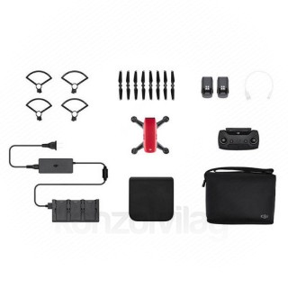 DJI SPARK Fly More Combo drón (Lava Red) PC