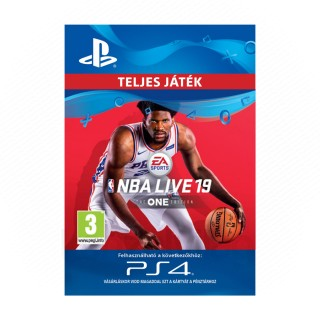 NBA LIVE 19: THE ONE EDITION - ESD HUN (Letölthető) PS4