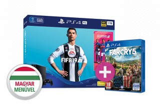PlayStation 4 Pro (PS4) 1TB + FIFA 19 + Far Cry 5 PS4