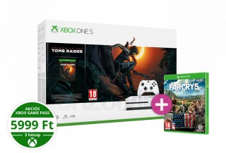 Xbox One S 1TB + Shadow of the Tomb Raider + Far Cry 5 XBOX ONE