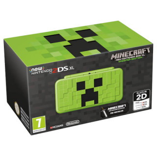 New Nintendo 2DS XL Minecraft Creeper Edition 3DS