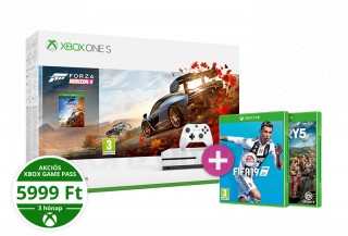 Xbox One S 1TB + Forza Horizon 4 + FIFA 19 + Far Cry 5 XBOX ONE