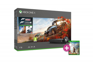 Xbox One X 1TB + Forza Horizon 4 + Forza Motorsport 7 + Assassin's Creed Odyssey XBOX ONE