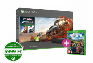 Xbox One X 1TB + Forza Horizon 4 + Forza Motorsport 7 + Far Cry 5 XBOX ONE