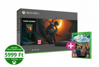 Xbox One X 1TB + Shadow of the Tomb Raider + Far Cry 5 XBOX ONE