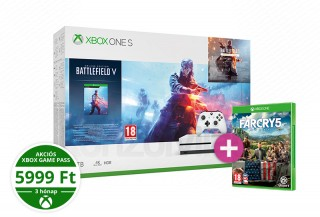 Xbox One S 1TB + Battlefield V + Far Cry 5 XBOX ONE