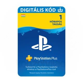 PlayStation Plus kártya 1 hónapos (PSN Plus) (DIGITÁLIS) - ESD HUN (Letölthető)  PS4