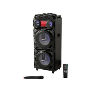 AKAI ABTS-T1203 Hordozható Bluetooth Hangszoró Wireless Mikrofonnal PC