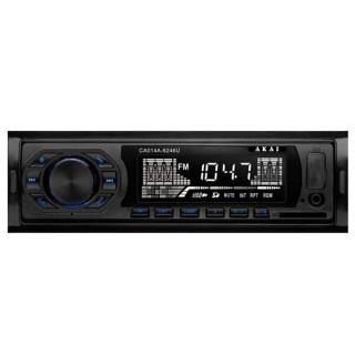 AKAI CA014A-6246U Autó rádió USB/SD kártya lejátszóval PC