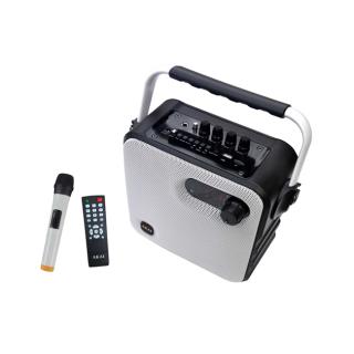 AKAI ABTS-T5 Hordozható Bluetooth Hangszoró Wireless Mikrofonnal PC
