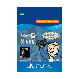 Fallout 76: 500 Atoms - ESD HUN (Letölthető) PS4