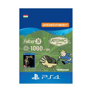 Fallout 76: 1000 (+100 Bonus) Atoms - ESD HUN (Letölthető) PS4