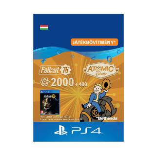 Fallout 76: 2000 (+400 Bonus) Atoms - ESD HUN (Letölthető) PS4