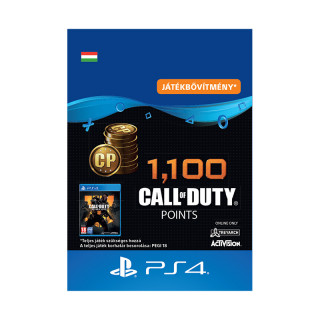 1,100 Call of Duty®: Black Ops 4 Points - ESD HUN (Letölthető) PS4