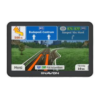 Navon N670 Plus navigáció + iGO8 Magyarország térkép + 1 év térképfrissítés PC