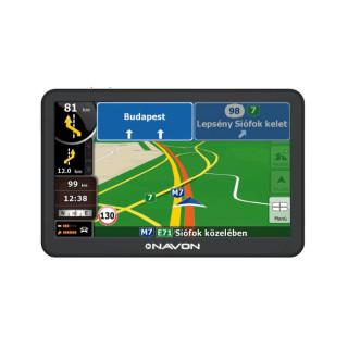 Navon N670 Plus navigáció + iGO Primo NextGen Európa térkép (46 ország) + Élettartam frissítés PC