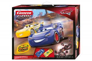 Carrera GO: Disney Verdák Radiator S 5,3m versenypálya autókkal AJÁNDÉKTÁRGY
