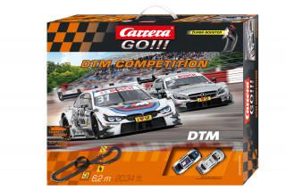 Carrera GO: DTM Competition 6,2m versenypálya autókkal AJÁNDÉKTÁRGY