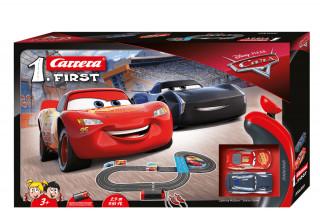 Carrera First: Disney Verdák 2,9m versenypálya autókkal AJÁNDÉKTÁRGY