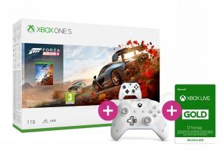 Xbox One S 1TB + Forza Horizon 4 + Sport White kontroller XBOX ONE