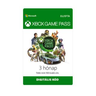 XBOX Game Pass 3 hónapos előfizetés (Letölthető) XBOX ONE