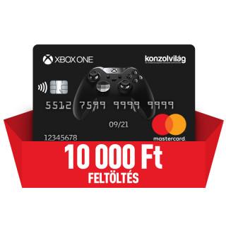 Konzolvilág Mastercard kártya feltöltés 10.000 Ft Több platform