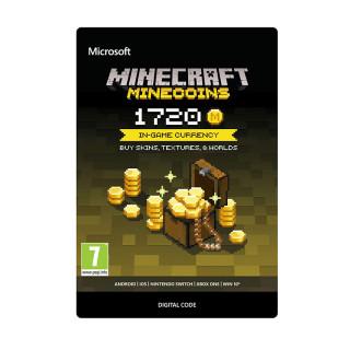 Minecraft Virtuális fizető eszköz 1720 Coins XBOX ONE