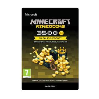 Minecraft Virtuális fizető eszköz  3500 Coins XBOX ONE