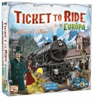 Ticket to Ride Európa AJÁNDÉKTÁRGY