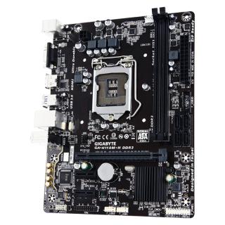 Gigabyte GA-H110M-H desktop alaplap PC