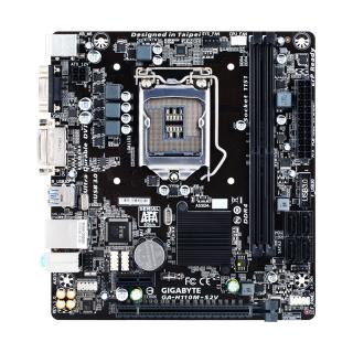 Gigabyte GA-H110M-S2V desktop alaplap PC