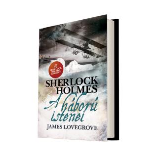 Sherlock Holmes: A háború istenei (keménytáblás) AJÁNDÉKTÁRGY