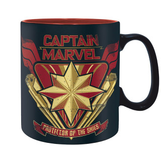 MARVEL - Bögre - Captain Marvel (460 ml) AJÁNDÉKTÁRGY