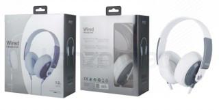 BH241 K3647 Fejhallgató fehér (Bontott) Mobil