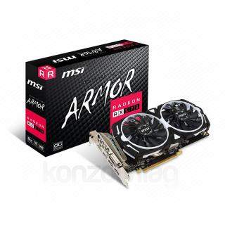 MSI Radeon RX 570 Armor 8G OC 8GB GDDR5 V341-236R PC