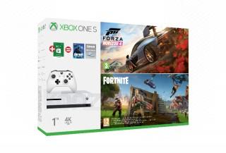 Xbox One S 1TB + Forza Horizon 4 + 2990 Ft digitális ajándékkártya Xbox One