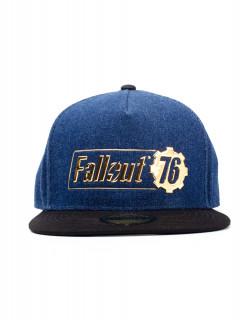 Fallout 76 - Sapka - Fallout Logo Badge Snapback AJÁNDÉKTÁRGY