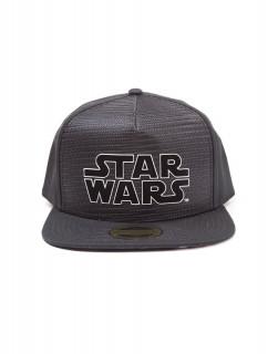 Star Wars - Sapka - Metal Logo Snapback AJÁNDÉKTÁRGY