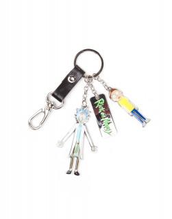 Rick and Morty - Kulcstartó - Character Charms Metal Keychain AJÁNDÉKTÁRGY