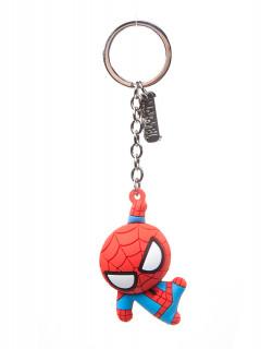 Spiderman - Kulcstartó - Character 3D Rubber Keychain AJÁNDÉKTÁRGY