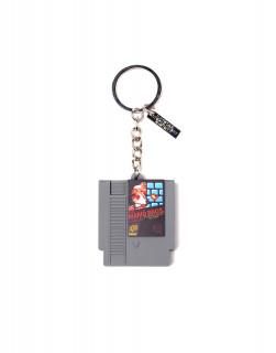 Nintendo - Kulcstartó - Cartridge 3D Rubber Keychain AJÁNDÉKTÁRGY