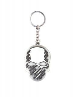 Ghost Recon Wildlands - Kulcstartó - Skull Metal Keychain AJÁNDÉKTÁRGY