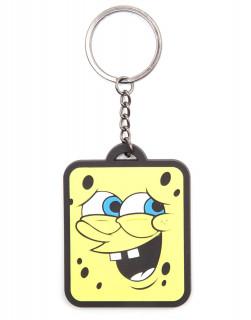 SpongeBob - Kulcstartó - Smiling Rubber Keychain AJÁNDÉKTÁRGY