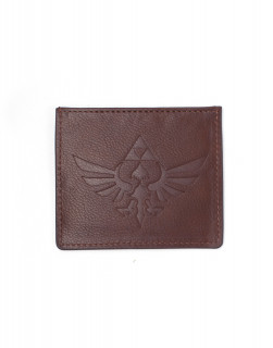 Zelda - Leather Card Wallet With Debased Logo AJÁNDÉKTÁRGY