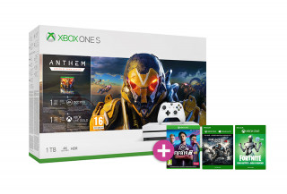 Xbox One S 1TB + Anthem + FIFA 19 + Gears of War 4 XBOX ONE