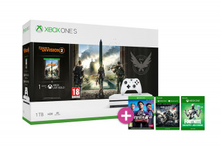 Xbox One S 1TB + The Division 2 + FIFA 19 + Gears of War 4 + Rare Replay XBOX ONE