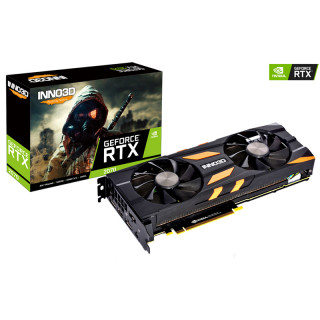 Inno3D GeForce RTX 2070 X2 OC 8GB GDDR6 (N20702-08D6X-2511683) PC