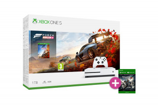 Xbox One S 1TB + Forza Horizon 4 + Gears of War 4 XBOX ONE