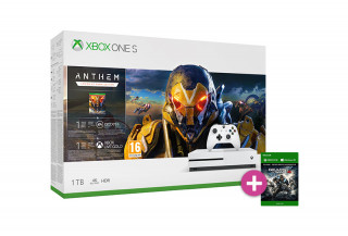 Xbox One S 1TB + Anthem + Gears of War 4 Xbox One